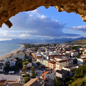 Sperlonga Italy by Giuseppe Ciaramaglia - City,  Street & Park  Historic Districts ( sea, sperlonga )