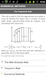 mathscard a-level - screenshot thumbnail