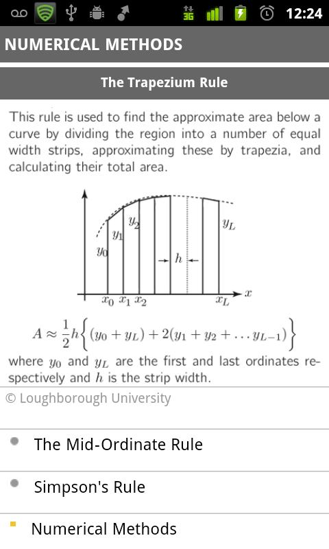 mathscard a-level - screenshot