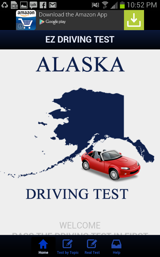 Alaska Driving Test - screenshot