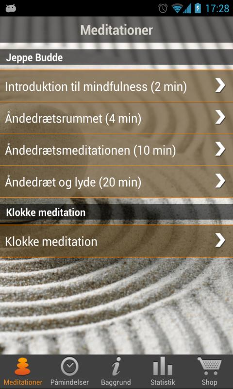 iMindfulness Mindfulness- screenshot