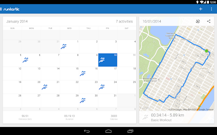Runtastic Running PRO Screenshot 1