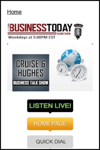 Small Business Today Radio - screenshot