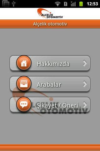 Alcelik Otomotiv - screenshot
