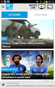 FRANCE 24- screenshot thumbnail