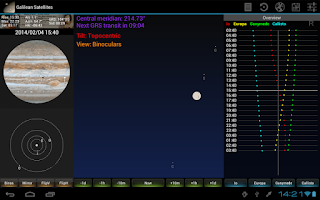 Screenshot of Galilean for Tablets