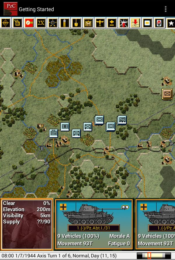 Panzer Campaigns - Panzer- screenshot