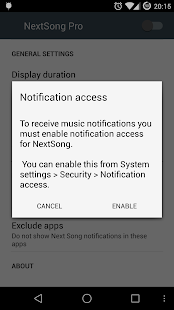 NextSong - Music Notifications Screenshot 5