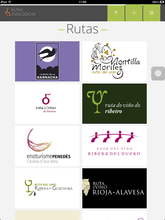 Rutas Enológicas- screenshot