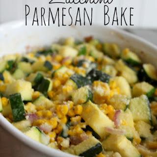 Zucchini Parmesan Bake.