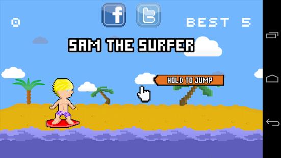 Sam the Surfer