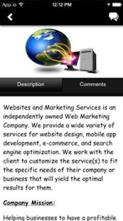 Websites & Marketing Services- screenshot thumbnail