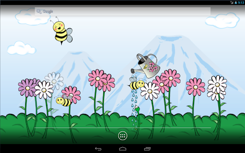 Bumbl Bees! Live Wallpaper- screenshot thumbnail