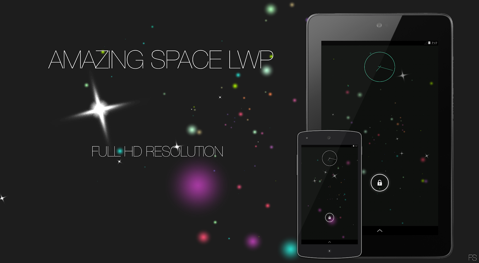 Amazing Space LWP- screenshot