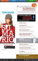 Screenshot of Revista del Consumidor