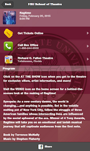 FSU School of Theatre screenshot