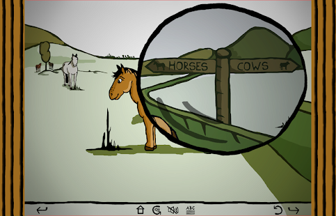 Harold the horse by the hedge- screenshot thumbnail