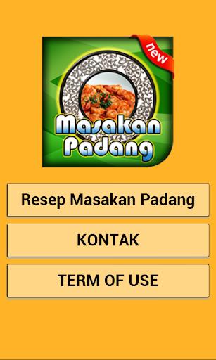 Resep Masakan Padang Spesial