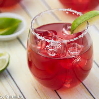 Pomegranate Margaritas {by The Pitcher}.