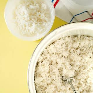 Simple White Rice.