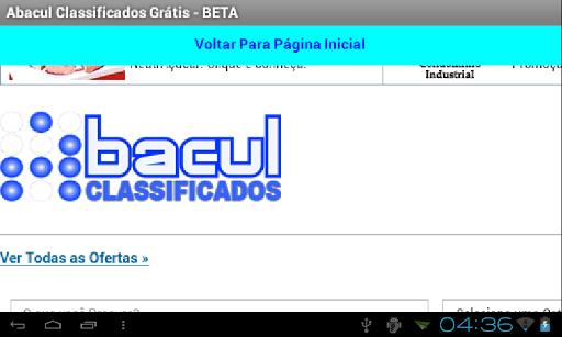 Abacul Classificados - BETA
