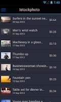 Screenshot of Microstockr