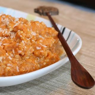 2 Minute Pumpkin Quinoa