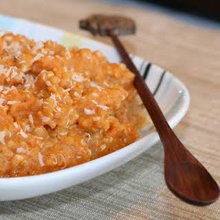 2 Minute Pumpkin Quinoa.