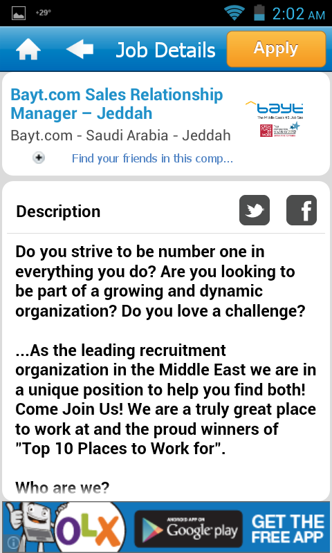 Bayt.com - screenshot