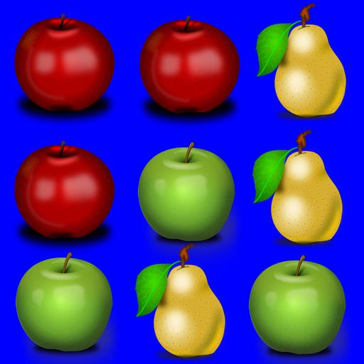 Fruit Match Game 家庭片 LOGO-阿達玩APP