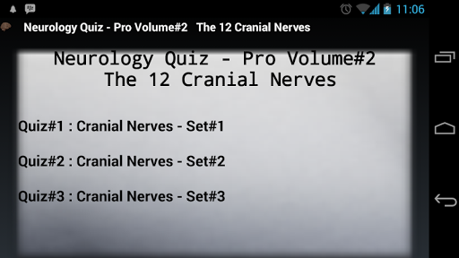 Neurology Quiz Pro Volume 2