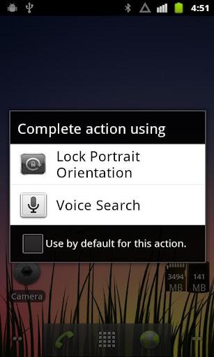 Lock Portrait Orientation