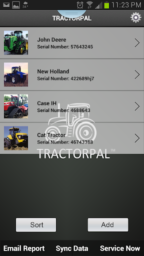 TractorPal - Your Ag Shop Log