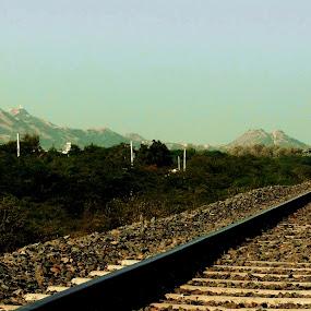 bhuj by Chhaditya Parikh - Travel Locations Railway