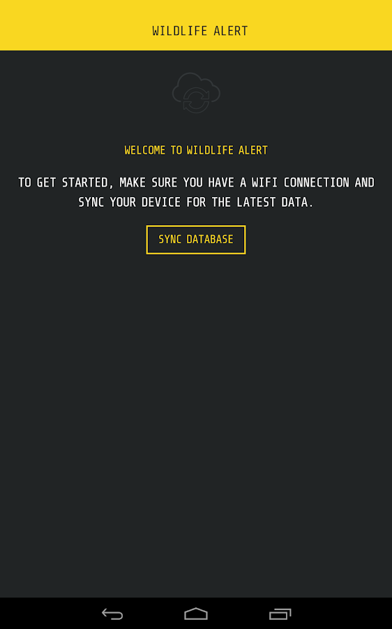 Wildlife Alert- screenshot