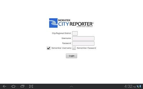 CityReporter Phone - náhled