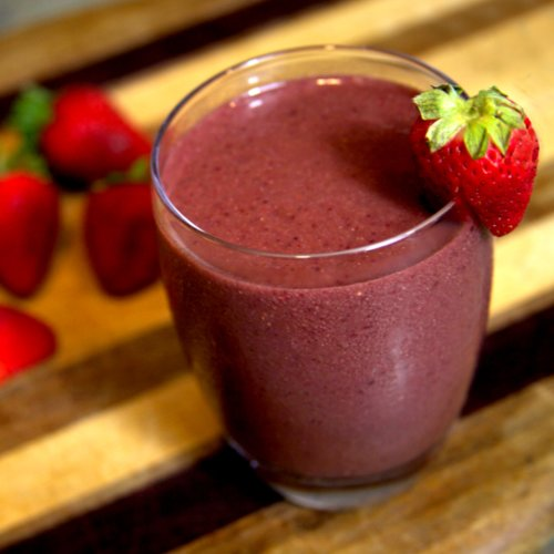 Cherry Berry Ginger Smoothie Recipe