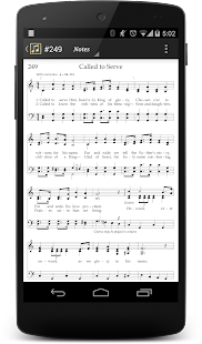 LDS Hymns with Notes- screenshot thumbnail