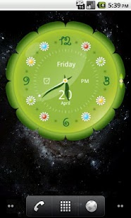 Big Clock Widget- screenshot thumbnail