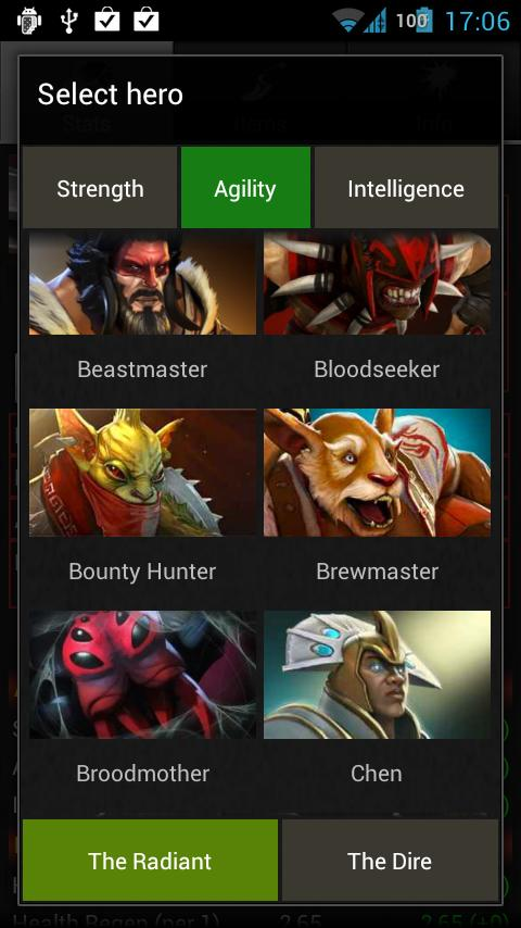 Dota 2 Builder - screenshot