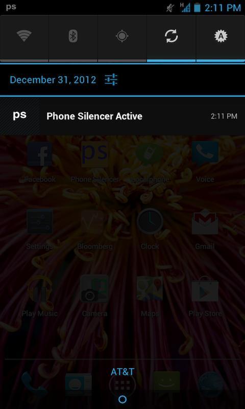 Phone Silencer - screenshot