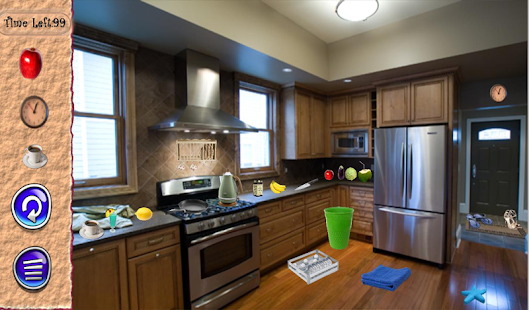 Hidden Objects Modern Kitchen