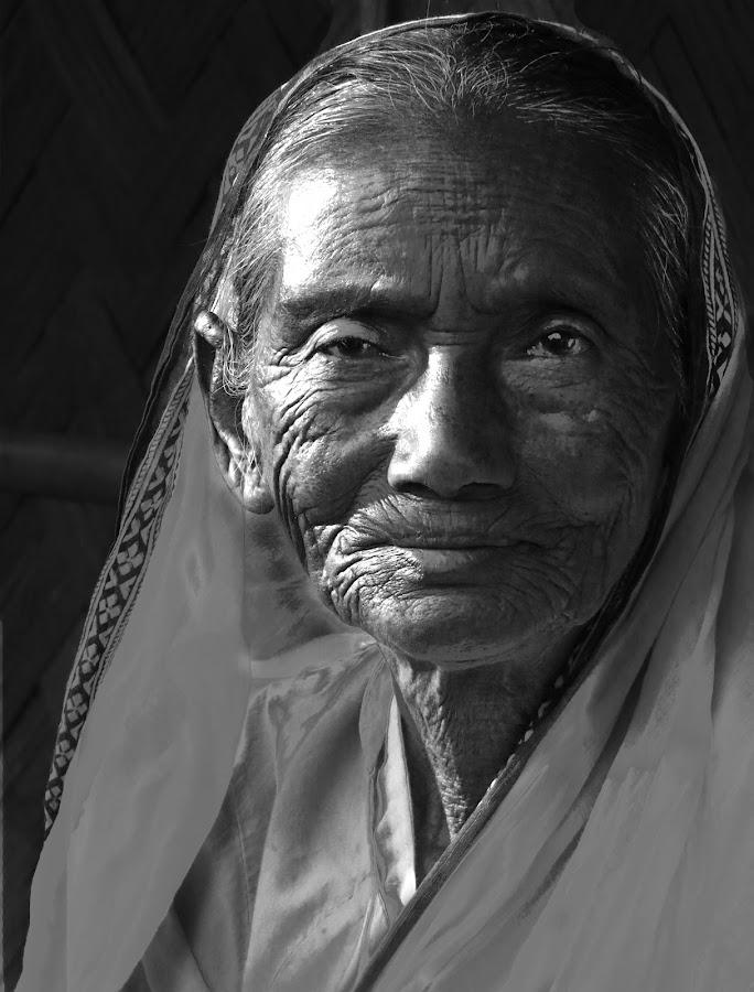 The old Woman by Avik      (AVM) Mukherjee - People Portraits of Women