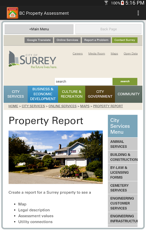 City Of Vancouver Property Assessment