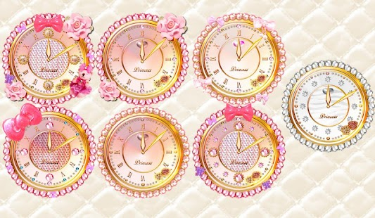 無料个人化Appのキラ姫☆デコ目覚まし時計ウィジェットパック|記事Game
