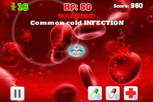 Screenshot of Cell Defense