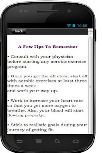 Aerobic Exercise Tips For You - screenshot thumbnail