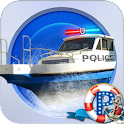 Boat Parking Police 3D icon