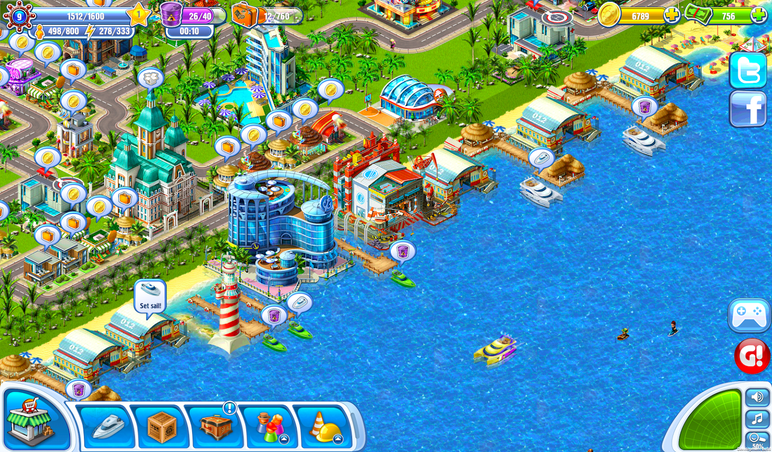 Sunshine Bay- screenshot