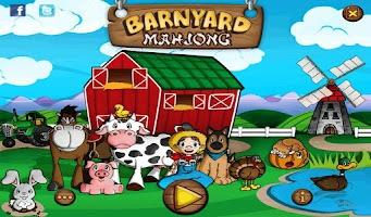 Screenshot of Barnyard Mahjong HD Free